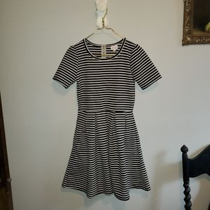 Lularoe Amelia Striped dress